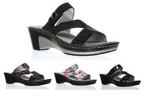 Alegria Womens Loti Comfort Wedge Heel Sandal