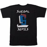 Dogtown X Suicidal Tendencies Suicidal Cross Color Skateboard Shirt Black Large on Sale