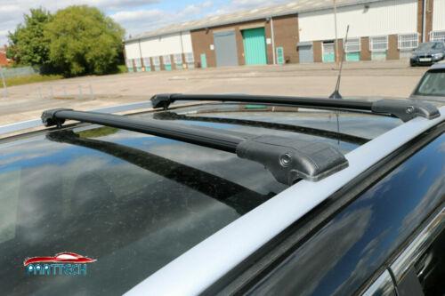 BMW X5 E53 2000-2007 barres de toit en aluminium barres transversales Noir