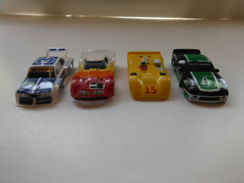 Aurora Afx Tyco Slot Car Body Lot Of 4 Race Car Bodys HO Very Nice Clean