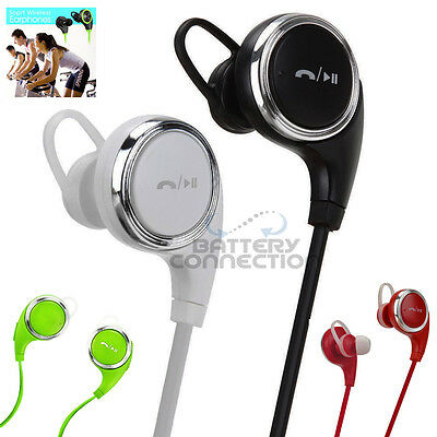 Stereo Wireless 4.0 Bluetooth Handsfree Headset Earphone for iPhone Samsung