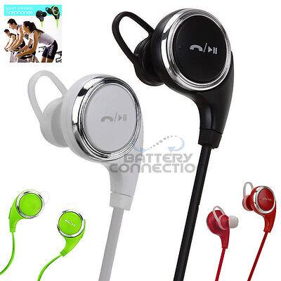 Stereo Wireless 4.0 Bluetooth Handsfree Headset Earphone for iPhone Samsung