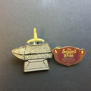 DLR-Annual-Passholder-The-Sword-in-the-Stone-2-Pin-Set-Disney-Pin-13383