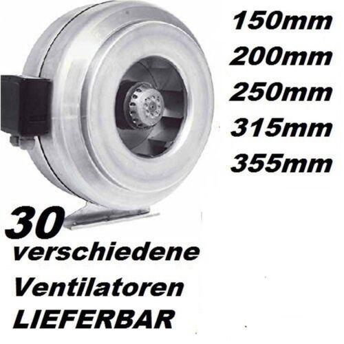 25cm ventilador de tubo canal ventiladores tubo//canal aire de salida a espacio ventilador ventiladores ventilador