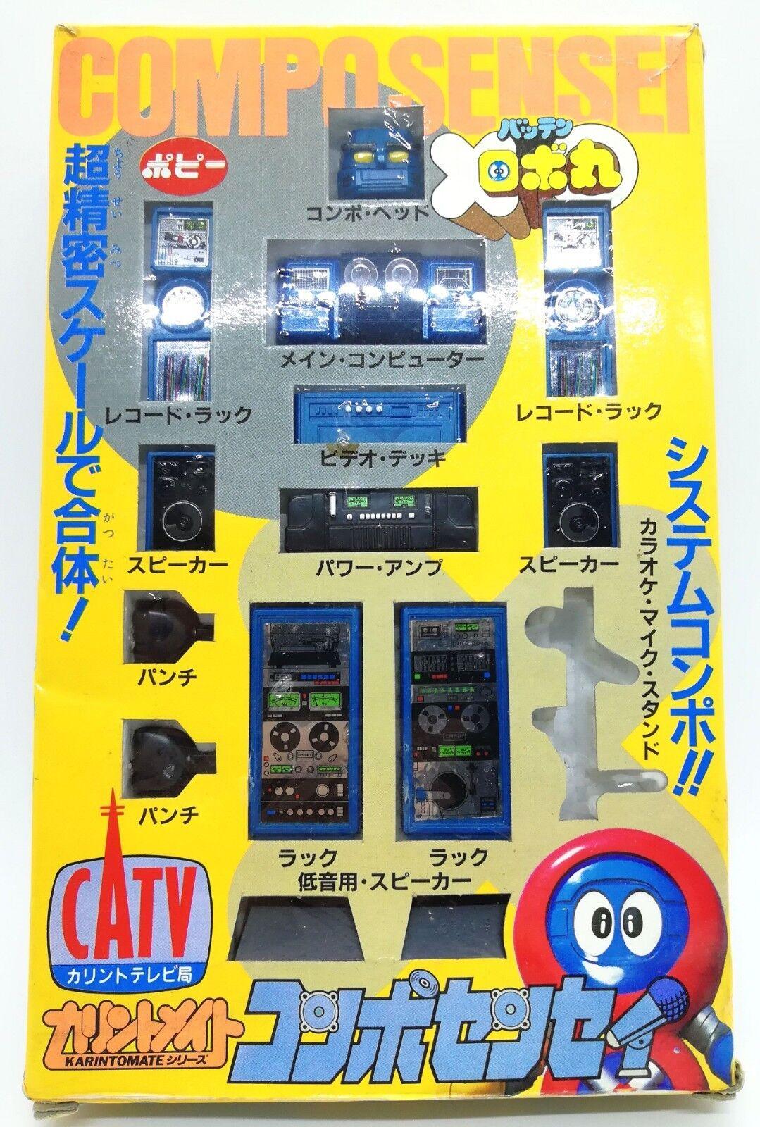 Robot Robomaru Teacher Compo Sensei Karinto Mate Figure Dolls Popy 1983 Rare