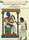 Dover Design Coloring Bks.: Ancient Egyptian Design by Ed, Jr. Sibbett (1979, Paperback)