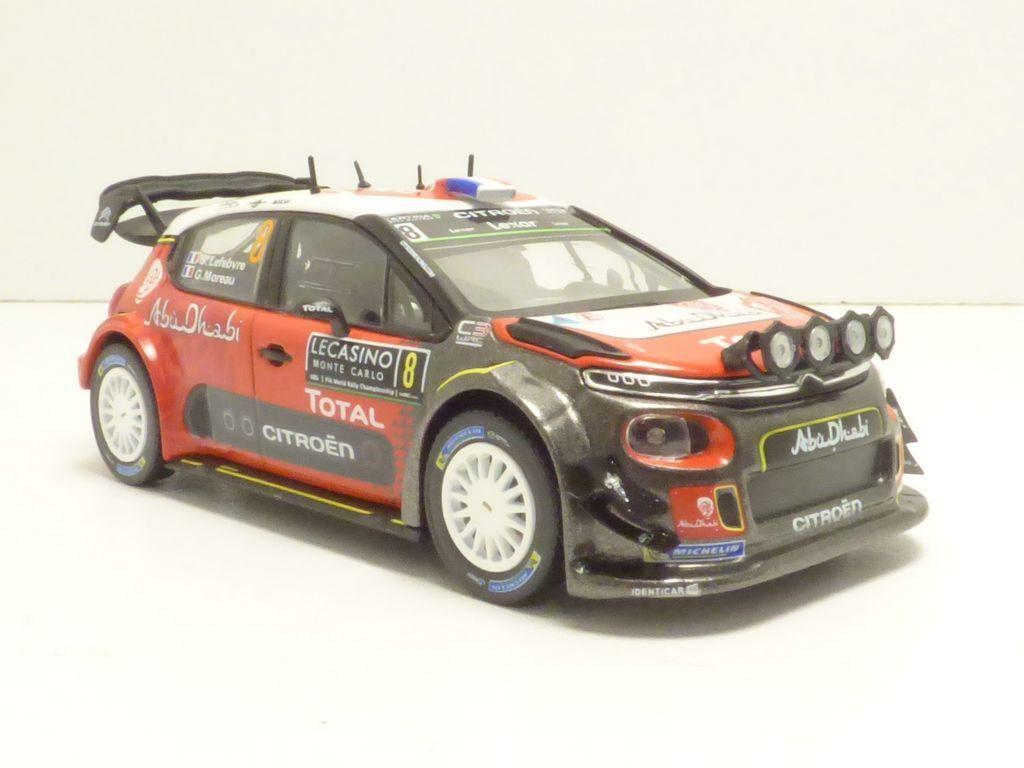 CITROEN C3 WRC n°8 Rallye MONTE CARLO 2017 1 43