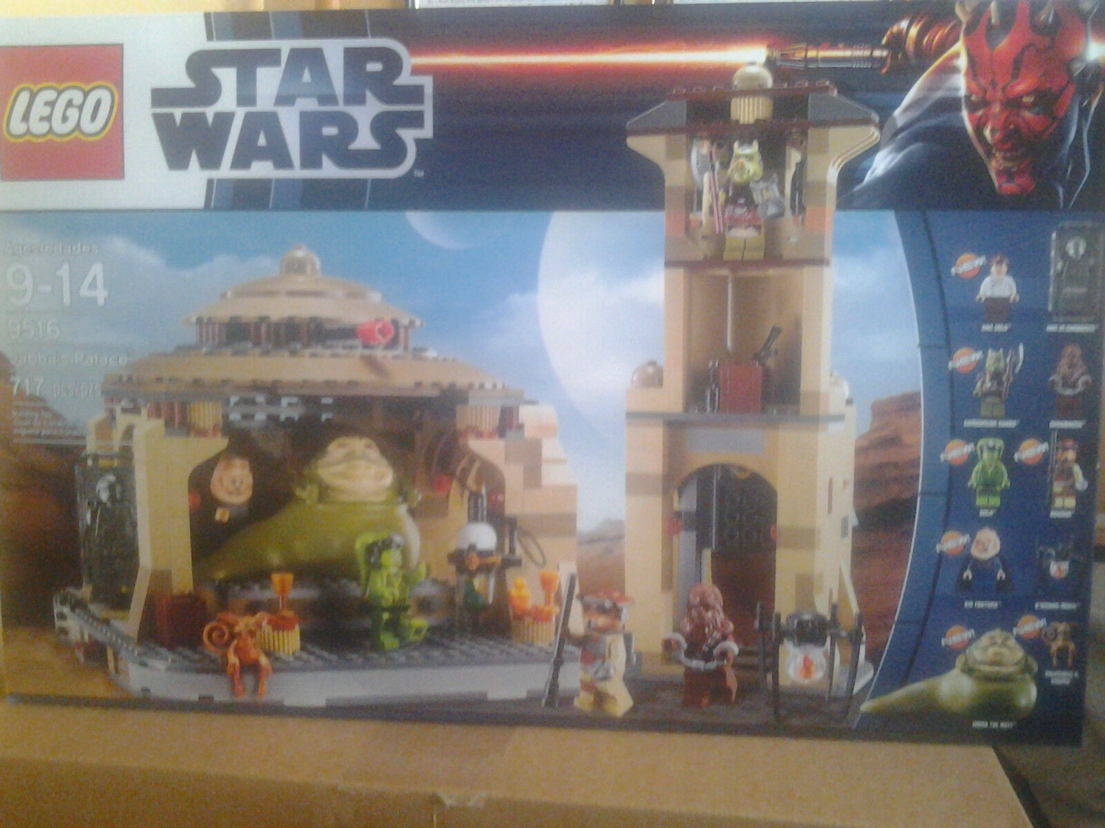 LEGO STAR STAR STAR WARS JABBAS PALACE 9516 MISB (RETIRED) 56e94a