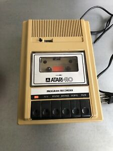 VINTAGE-ATARI-410-PROGRAM-RECORDER-for-Atari-Home-Computers-unable-to-test