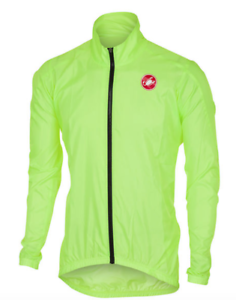 CAPE CASTELLI TEAM ER FLUORESCENT  YELLOW Size S  new exclusive high-end