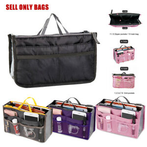 Lady-Women-Travel-Insert-Handbag-Organiser-Purse-Large-Liner-Organizer-Tidy-Bag