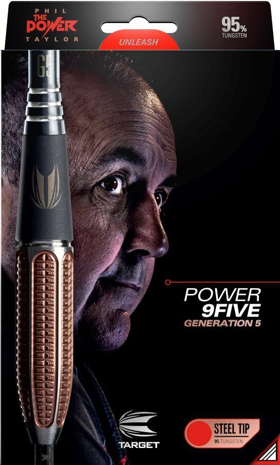 TARGET Steel Dart Pfeile Darts Darts Darts Phil Taylor The Power 9Five G5 Gen 5 26 gr 200934 0452c1