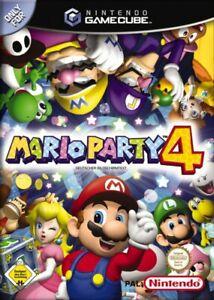 Nintendo-GameCube-Spiel-Mario-Party-4-DE-EN-mit-OVP