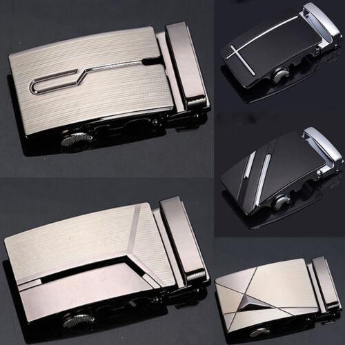 Men/'s Leather Automatic metal Belts Buckle Head NO Waist Strap Belt Waistband