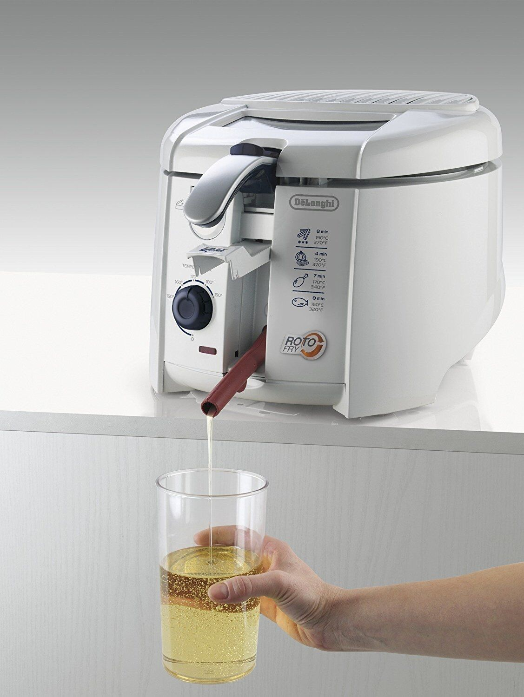 Deep Fryer Delonghi F28311 - 1.2 liters rougeary Basket Easy Clean System Genuine