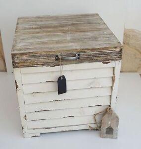 Holztruhe Tisch truhe box kasten kiste holztruhe tisch holz massiv vintage antik