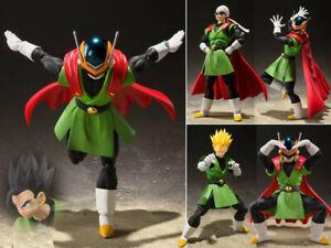 SHF-S-H-Figuarts-DBZ-Dragon-Ball-Z-Great-Saiyaman-Son-Gohan-Action-Figure-NoBox