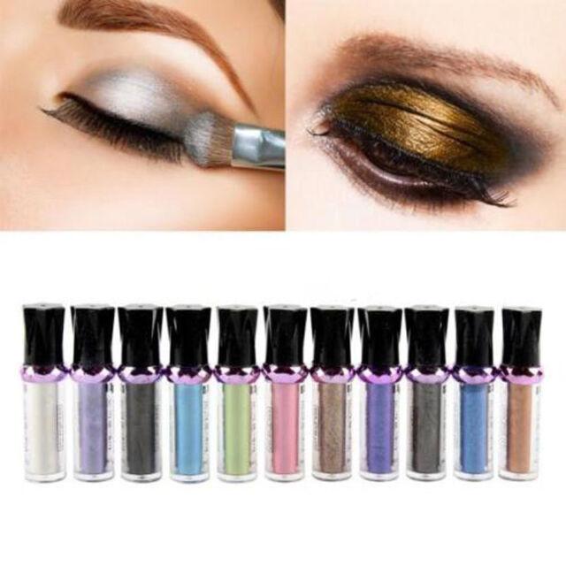 Women Roll On Eye Shimmer Single Eyeshadow Pearl Pigment Loose Powder Eye Shadow