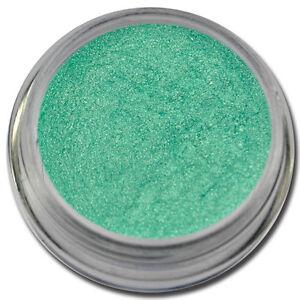 Pigment-Puder-Mint-Chrom-Effekt-Glitzer-Glitter-Pulver-Nail-Art-Nagel-Design