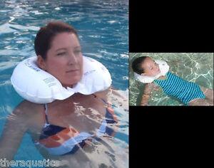 Special-Needs-Swimming-Handicap-Aquatic-Neck-COLLAR-Head-Float-Swim-Brace-9101