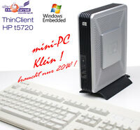 SEHR LEISER MINI COMPUTER HP TC5720 MIT CPU AMD 1500+ RS-232 512 MB RAM SSD HDD