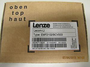 NEW-LENZE-LECOM-LI-COMMUNICATION-MODULE-EMF2102IBCV003-FACTORY-SEALED