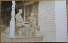 Sudbury, MA 1927 Realphoto Postcard: Calvin Coolidge & Henry Ford, General Store