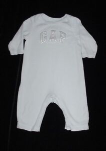 ccab1eccbb336 EUC Baby GAP Outlet Boys LOGO SHOP Light Blue Romper 3-6 M | eBay