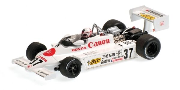 March Honda F2 812 Satoru Nakajima Winner Great 20 Racers Race Suzuka 1981 1 43
