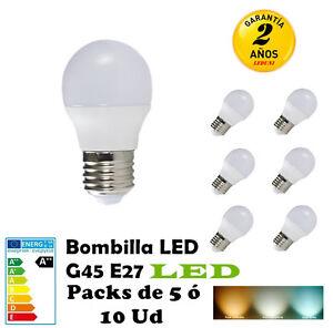 G45-Bombilla-LED-E27-3W-4W-5W-7W-Packs-de-5-10-Unidades-260LM-520LM-Translucido
