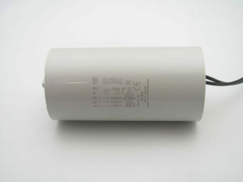 70 uF 450//500 VAC Capacitor 9323400700150 Insulated Wire Leads RPC3N706M8