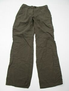REI-Men-039-s-Size-30-High-Waist-Brown-Straight-Leg-Twill-Utility-Pants