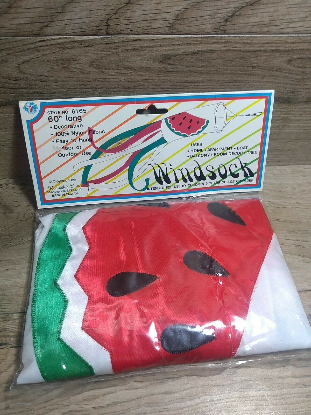 Watermelon Windsock 60 inches long tunnel flag