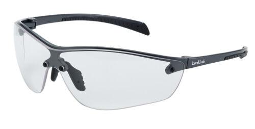 Plus Occhiali di Sicurezza Occhiali-Lenti Chiare peso leggero BOLLE Silium