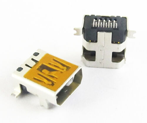 10pcs USB Female Jack B Type DIP PCB Board Mount Socket Connector Mini 10Pin