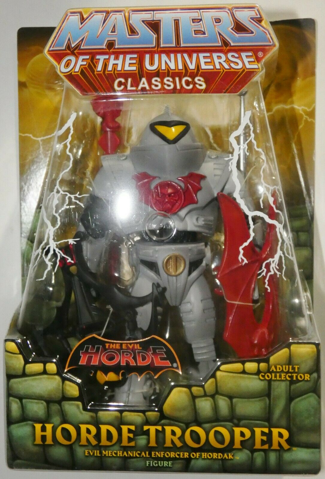 Masters of the Universe classeeics ORDA Trooper MOTU MOTUC  (HE-uomo SHE-RA) MATTEL  risparmiare fino all'80%