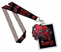 Funko Deadpool Marvel Lanyard Officially Licensed Neck Strap Id Holder on sale