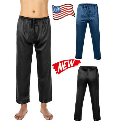 Mens Lounge Pants Gym Trousers Bottoms Joggers Pyjama PJs Nightwear Trouser