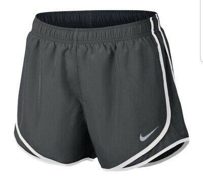 Women's Nike Tempo Shorts Sz Small Anthorite 831558-060 Dark Gray Dri Fit |  eBay