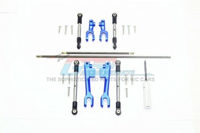 GPM SUDR312FRS F & R SWAY BAR  & ALU SWAY BAR ARM W  LINKAGE TRAXXAS 1 10 RUSTLER  outlet online economico