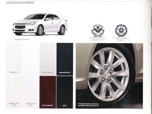 2016 Chevrolet Malibu Limited 24-page Original Car Sales Brochure Catalog