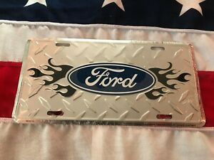 Ford-Logo-Novelty-Number-Plate-American-Licence-Car-Wall-Sign-Man-Cave-Garage