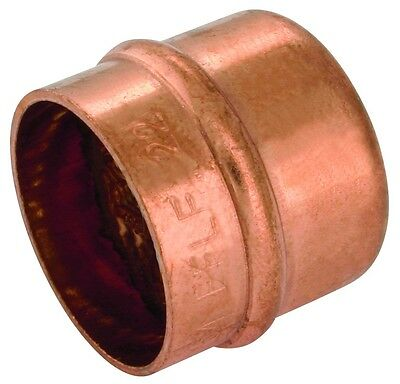 Solder Ring Stop end cap copper plumbing fitting 8mm, 10mm, 12mm, 15mm available