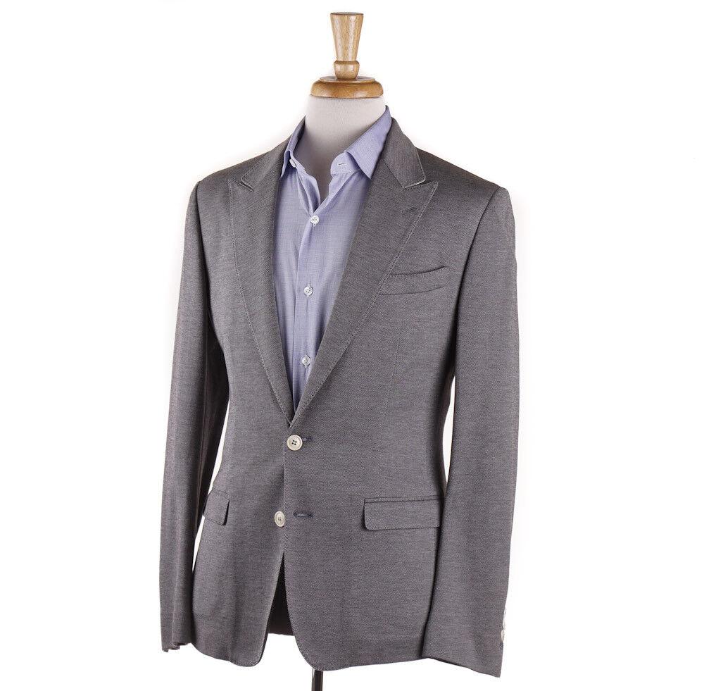 NWT 1795 DOLCE & GABBANA Knit Jersey Cotton Blazer Slim 38 (Eu 48) Sport Coat