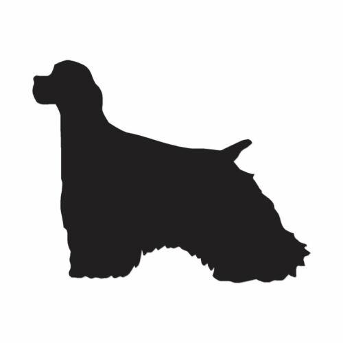 Multiple Color /& Sizes ebn1938 Vinyl Decal Sticker Cocker Spaniel Dog