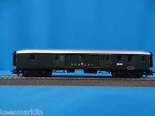 Marklin 4017 SBB CFF  Light Express bagage car Green TIN PLATE