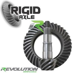"""CHEVY 14 BOLT USA STANDARD RING AND PINION GM 10.5/""""  4.56 THICK GEAR SET"""