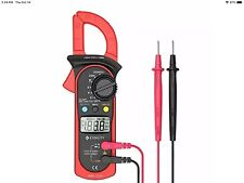 New Listingetekcity Digital Clamp Meter Multimeter Msr C600 Auto Ranging Multimeters Acdc