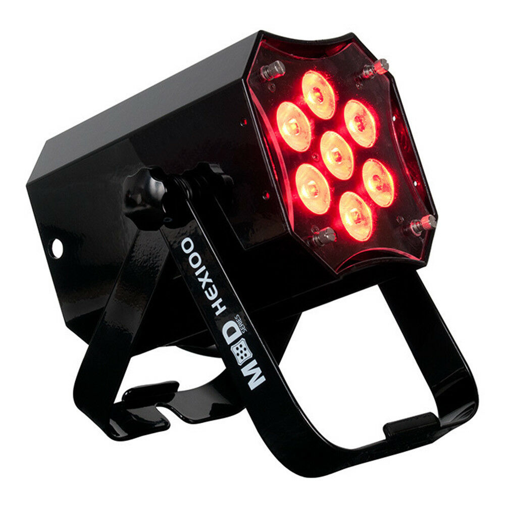 ADJ MOD HEX100 7 x 15W RGBAW+UV LED Par Changeable Lens / Housing DMX