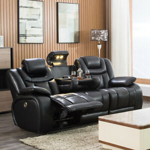 Terrific Details About Reclining Sofa Home Theater Seating Power Sofa Theater Recliner Sectional Sofa Machost Co Dining Chair Design Ideas Machostcouk